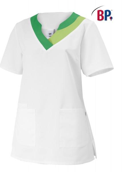 BP® Damen-Schlupfkasack weiß/hellgrün