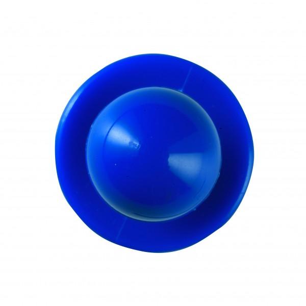 Kugelknöpfe (Kochjackenknöpfe) von Leiber, Farbe blau für 6-er Knopflochreihe