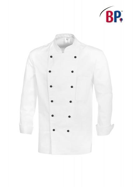 BP-Kochjacke aus 100 % Baumwolle in weiß