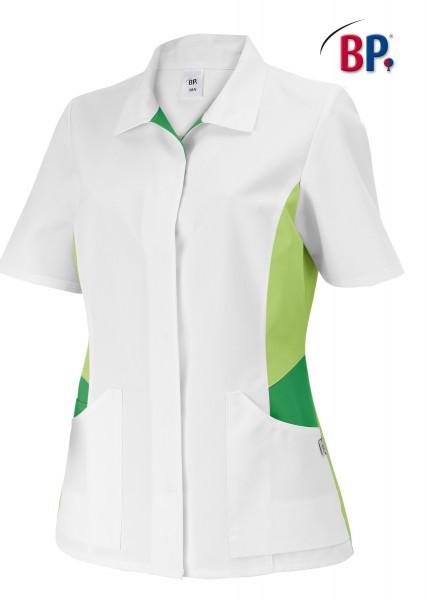 BP® Damenkasack weiß/hellgrün