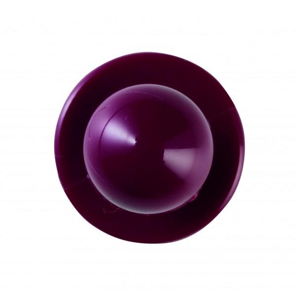 Kugelknöpfe (Kochjackenknöpfe) von Leiber, Farbe bordeauxrot für 6-er Knopflochreihe