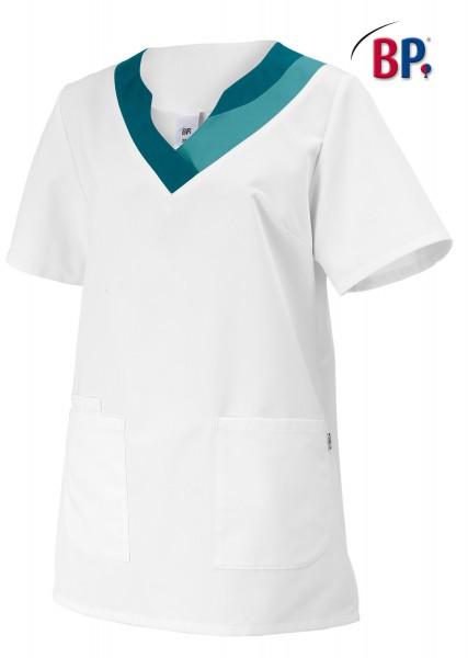 BP® Damen-Schlupfkasack weiß/petrol