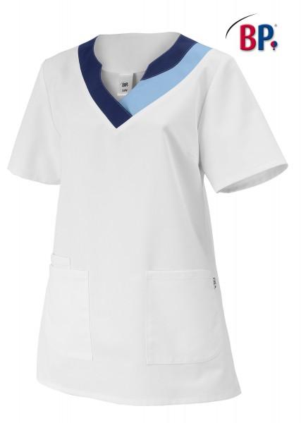BP® Damen-Schlupfkasack weiß/hellblau