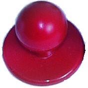 Kugelknöpfe (Kochjackenknöpfe) von Leiber, Farbe rot für 6-er Knopflochreihe