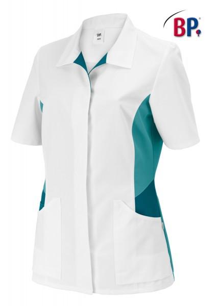 BP® Damenkasack weiß/petrol