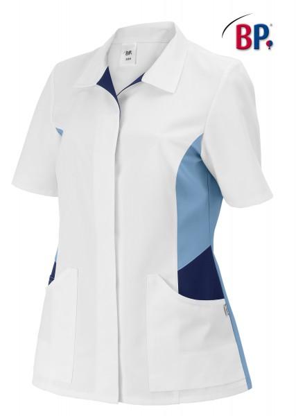 BP® Damenkasack weiß/hellblau